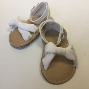 BABY GAP Softcross Sandal Optic White 12-18 Months